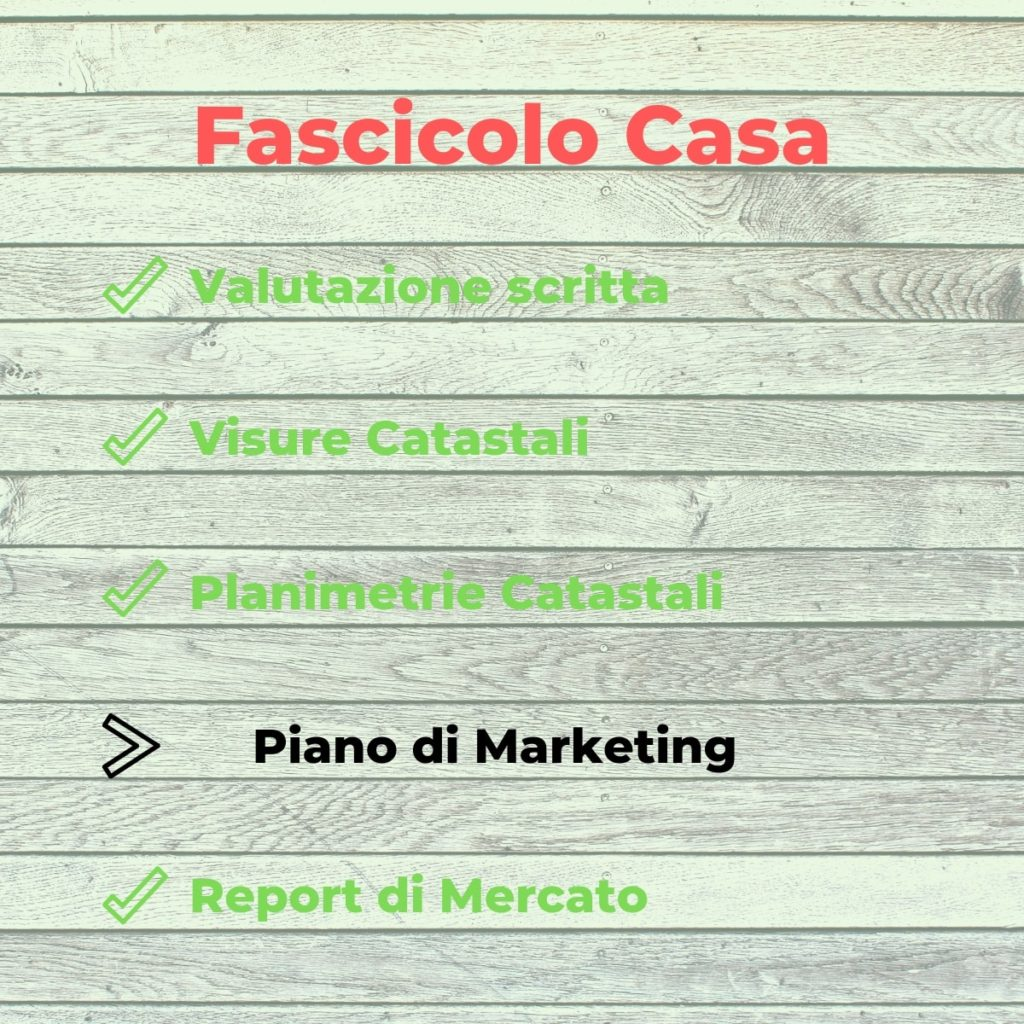 Fascicolo Casa - Punto 4 - Piano di Marketing - CasaCatag - Massimiliano Podestà